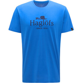 Haglöfs Camp T-shirt Heren, storm blue/tarn blue